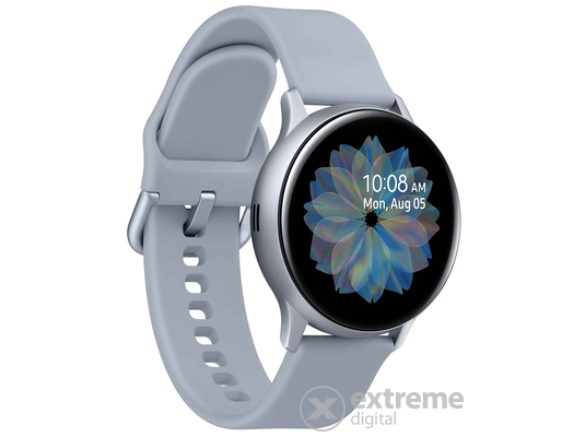 Samsung Galaxy Watch Active 2 okosóra (40mm, Aluminium), ezüst