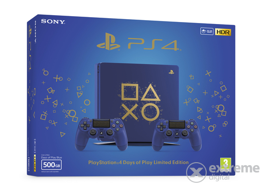 PlayStation® PS4 Slim 500GB Days of Play Edition konzol