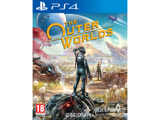 The Outer Worlds PS4 játékszoftver