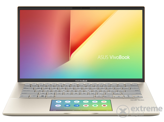 Asus VivoBook S432FL-AM106T notebook, zöld + Windows10