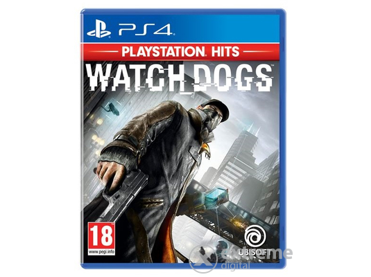 Watch Dogs Playstation Hits Edition PS4 játékszoftver